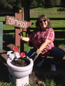 Joni and the Compost Toilet
